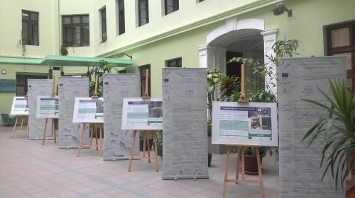 Výstava v átriu hlavnej budovy MŽP SR_1